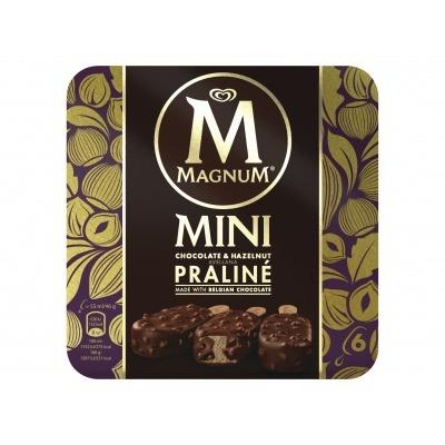 Magnum Mini hazelnut praline