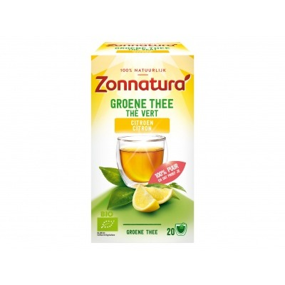 Zonnatura Green tea lemon