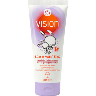 Vision Zonnebrand baby & young kids SPF 50+