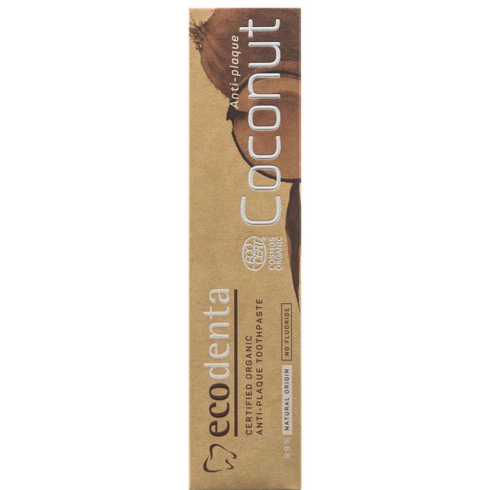 Ecodenta  Cosmos organic tandpasta met kokosnoot