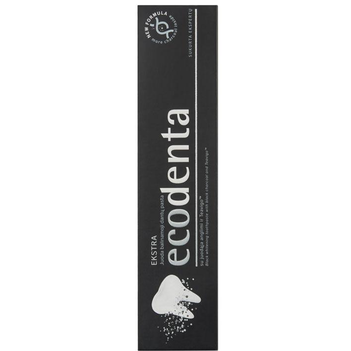Ecodenta Expert solution tandpasta met houtskool