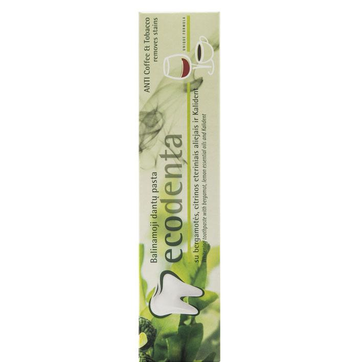 Ecodenta Unique formula tandpas anti koffie/tabak