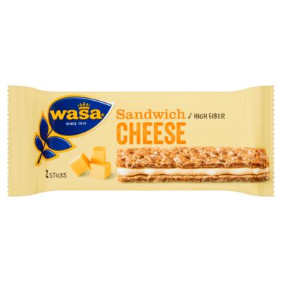 Wasa Sandwich Cheese 3 Stuks 93 g