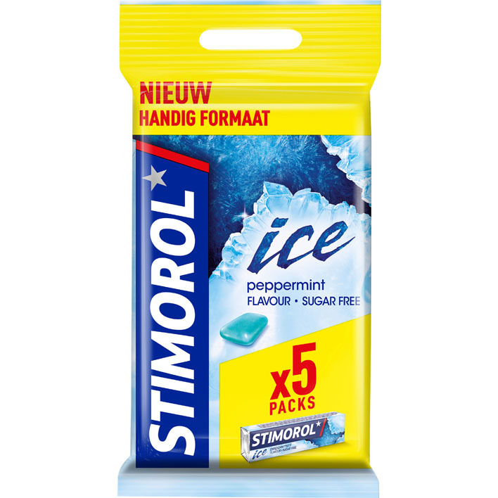 Stimorol Ice peppermint 5-pack