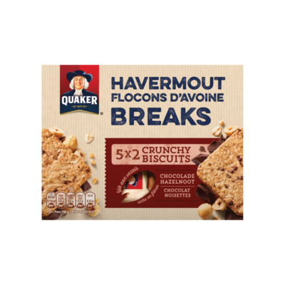 Quaker Havermout Biscuit Chocolade