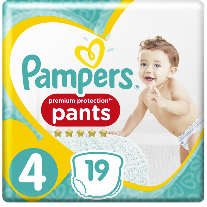 Pampers Premium protection maat 4 pants