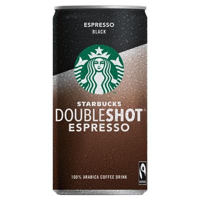 Starbucks doubleshot espresso black