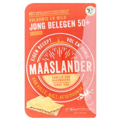 Maaslander 50+ Jong Belegen Plakken 175 g