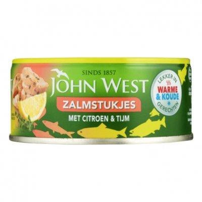 John West Zalmstukjes met citroen en tijm MSC