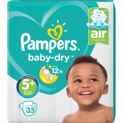 Pampers Baby dry junior plus valuepack