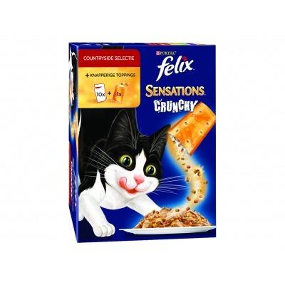 Felix Sensations crunchy vlees