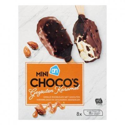 Huismerk Mini choco's gezouten karamel