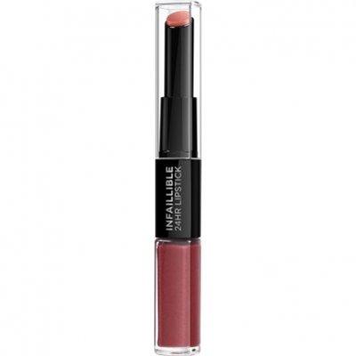 L'Oréal Infallible lipstick 507 relentless rouge