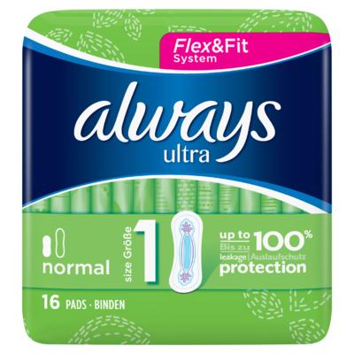 Always Ultra Normal (Maat 1) Maandverband x16
