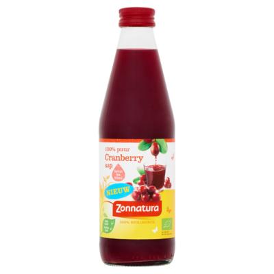 Zonnatura Cranberrysap 330 ml
