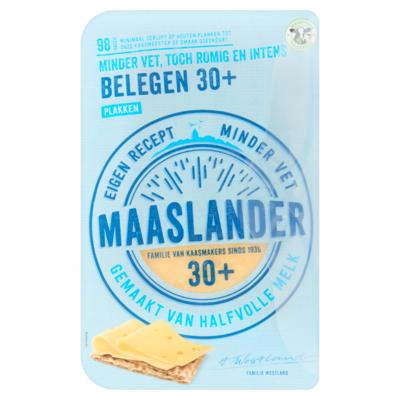 Maaslander 30+ Belegen Plakken 175 g