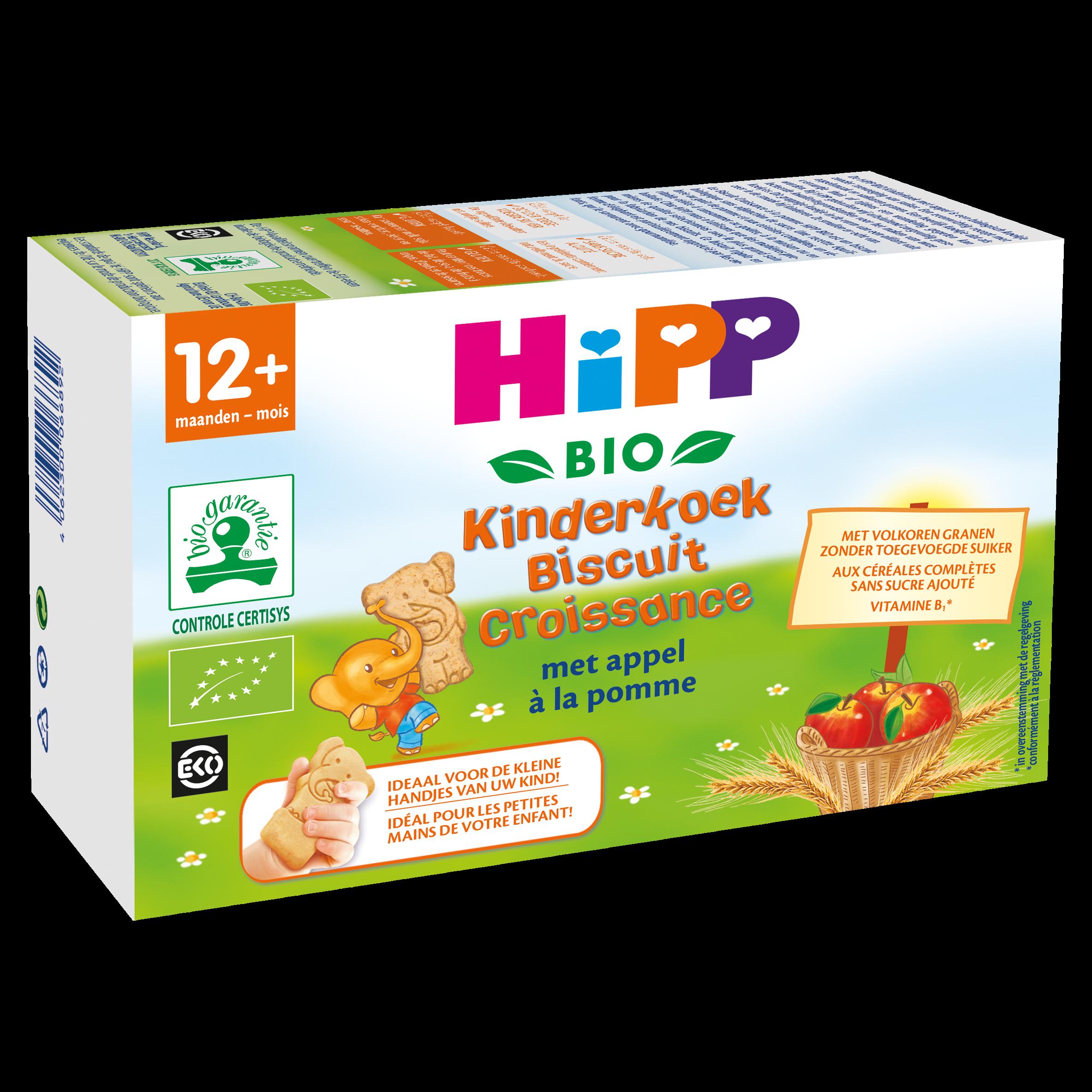 HiPP Biologisch Kinderkoek met Appel 12+ Maanden 150 g