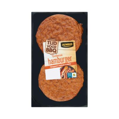 Huismerk Barbecue Hamburger