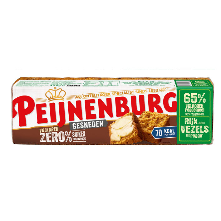 Peijnenburg Zero volkoren gesneden