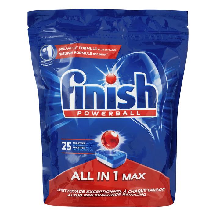 Finish All in 1 max vaatwastabletten normaal