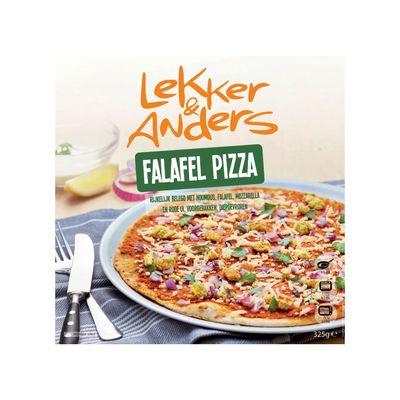 Lekker&anders Falafel Pizza