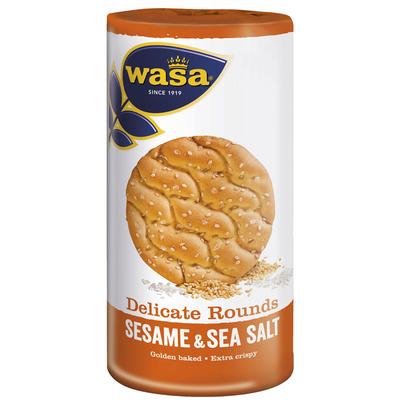 Wasa Delicate rounds sesame & seasalt