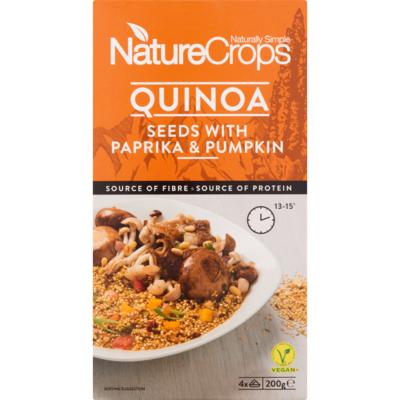 NatureCrops Naturecrops quinoa paprika  pumpkin