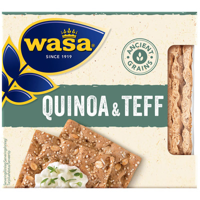Wasa Ancient grains quinoa & teff