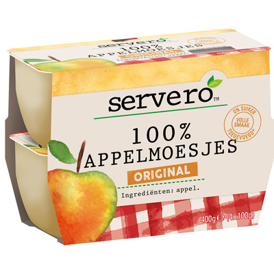 Servero 100% appelmoesjes original
