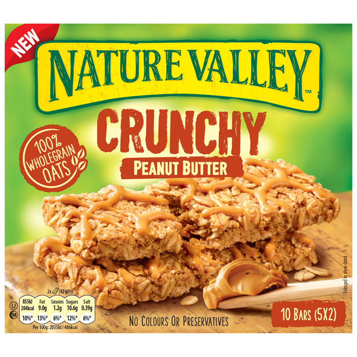 Nature Valley Crunchy peanut butter
