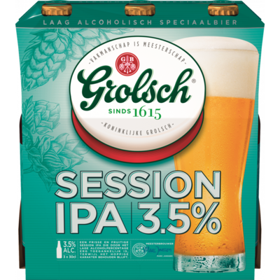 Grolsch Session ipa 3x30cl