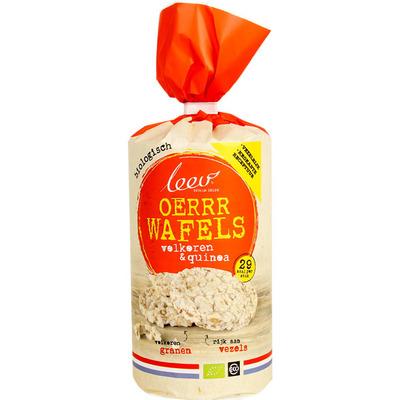 Leev Bio oer wafels volkoren-quinoa