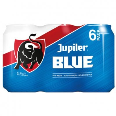 Jupiler Blue Blik 33cl