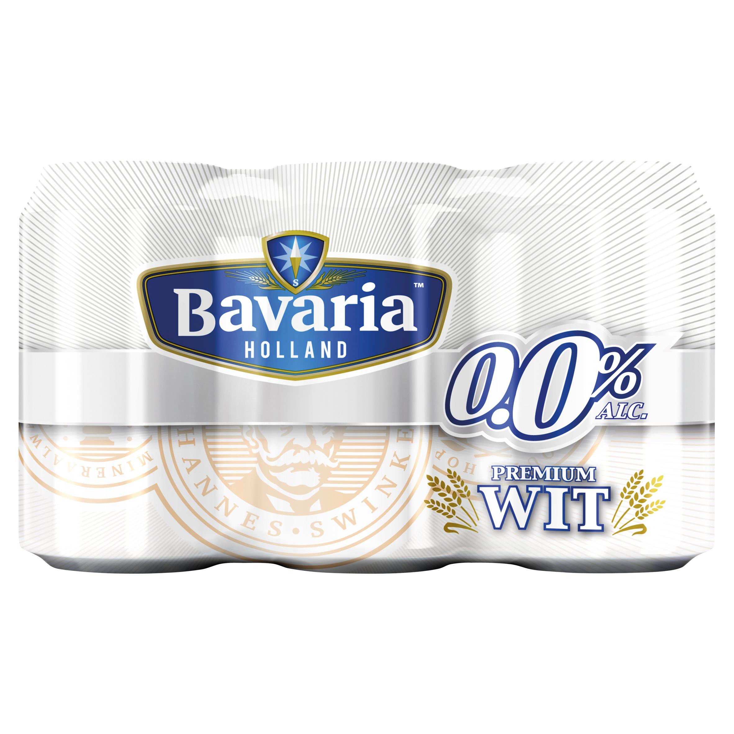 Bavaria 0.0% Premium Alcoholvrij Witbier 6 x 33 cl