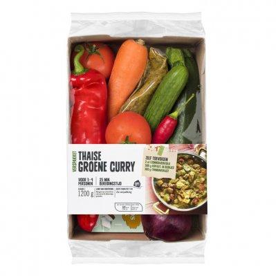 Huismerk Thaise groene curry verspakket