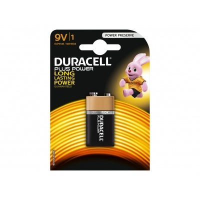 Duracell Plus power 9 volt