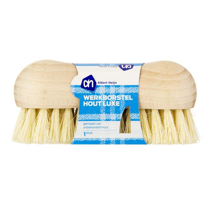 Huismerk Luxe werkborstel hout