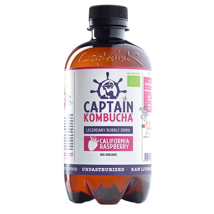 Captain Kombucha California raspberry