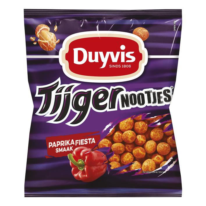 Duyvis Tijgernoten fiesta paprika
