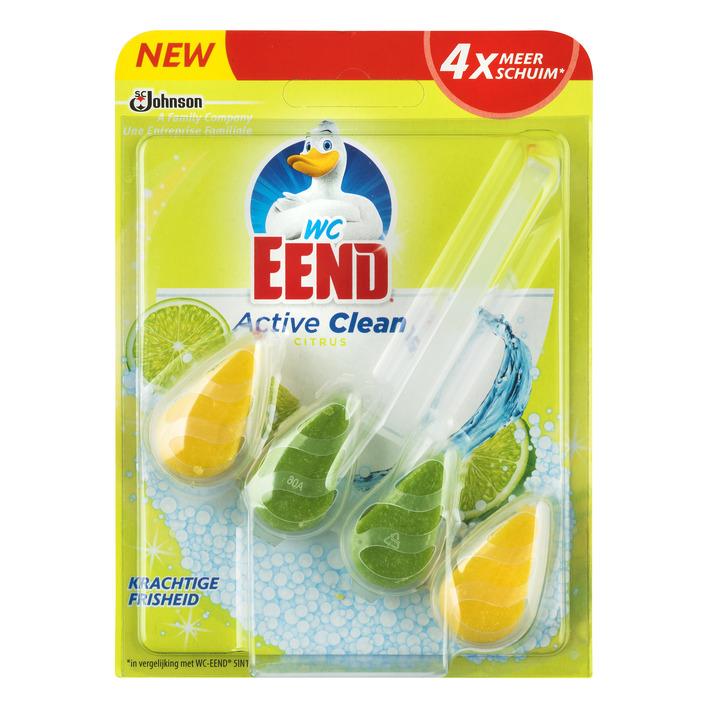 WC Eend Active clean toiletblok citrus