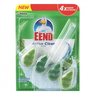 WC Eend Active clean toiletblok pine