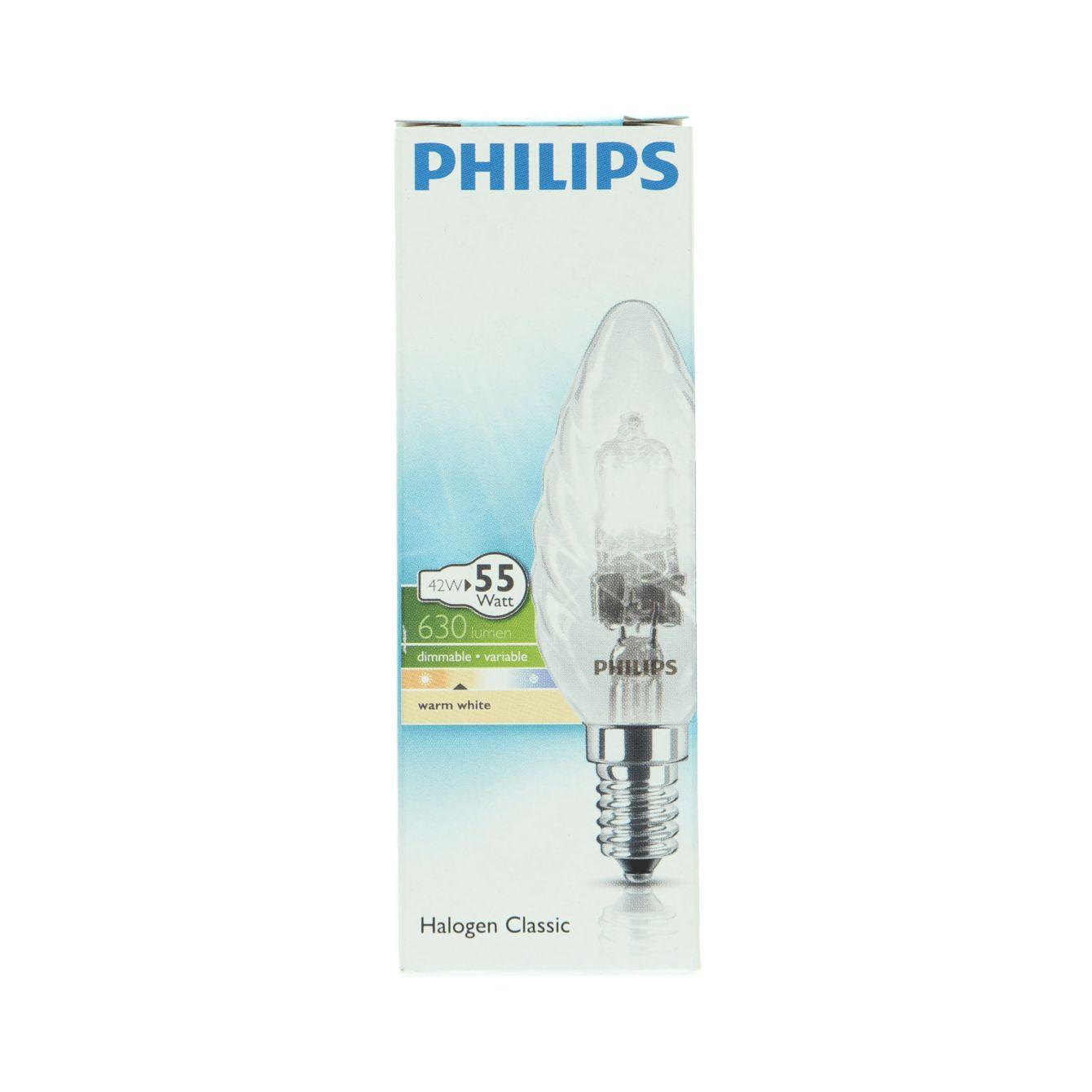 Philips Halogen 42w E14 230v Bw35