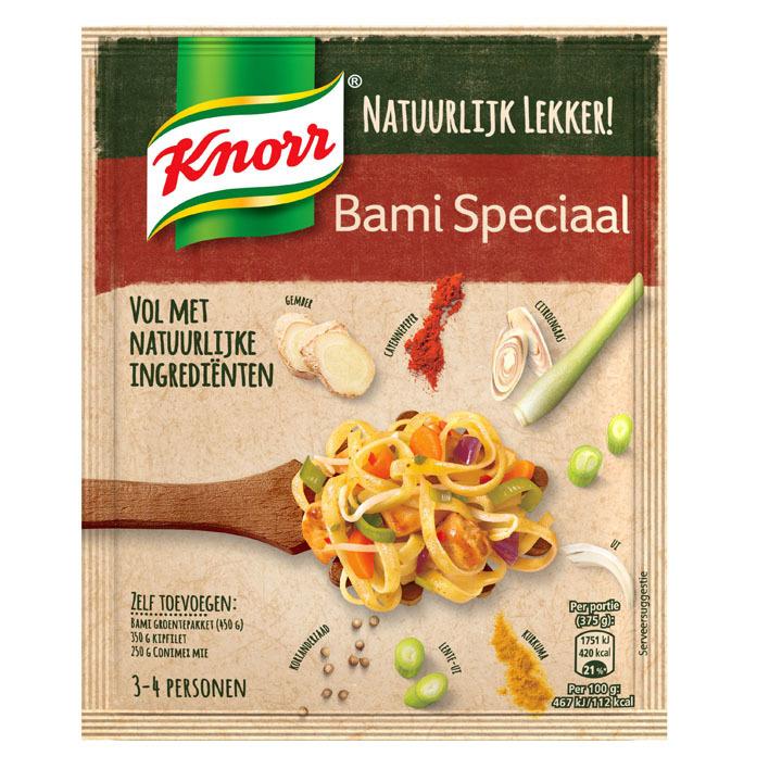Knorr Natuurlijk lekker mix bami