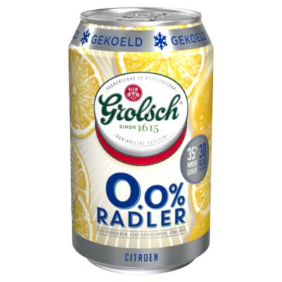 Grolsch Radler Citroen 0.0% Gekoeld