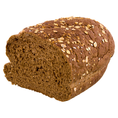 PLUS Korenlanders Vloerbrood extra donker half