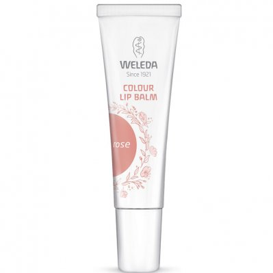 Weleda Colour lip balm rose