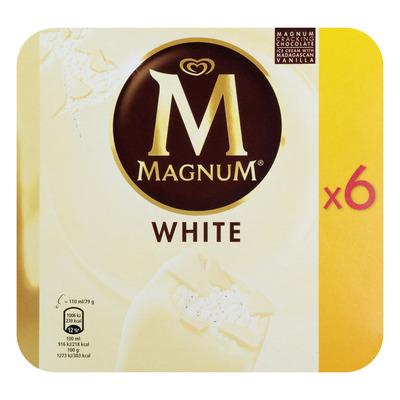 Magnum White chocolate ijs