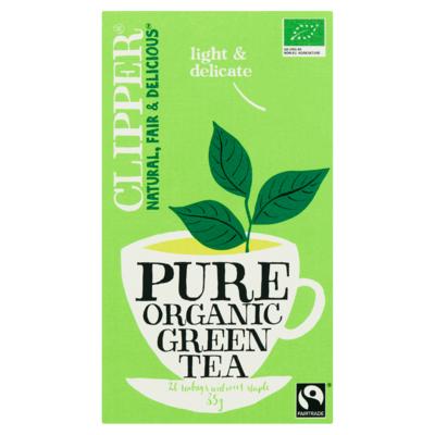 Clipper Pure Organic Green Tea 20 Zakjes 35 g