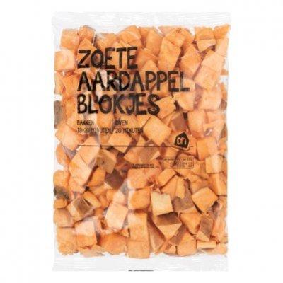 AH Zoete aardappelblokjes