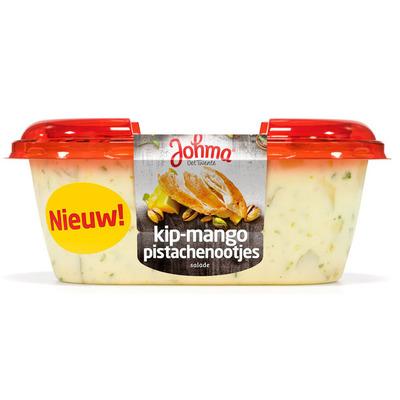 Johma Kip-mangosalade met pistachenootjes